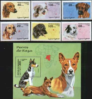 Dogs by Sahara Occidental MNH re:1998-6