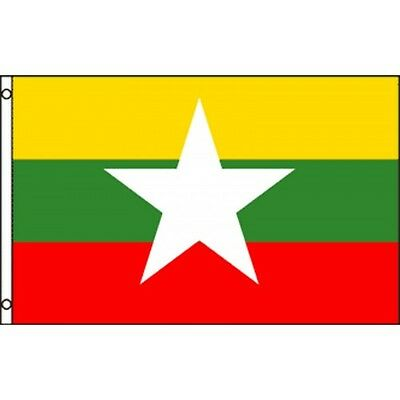 Myanmar (New) 3 x 5' Banner National Flag 90cm x 150cm
