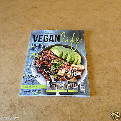 Vegan Life Issue 22 Jan 2017 Recipes Lifestyle Health Nutrition Events News