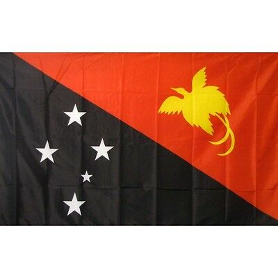 Papua New Guinea 3 x 5' Banner National Flag 90cm x 150cm