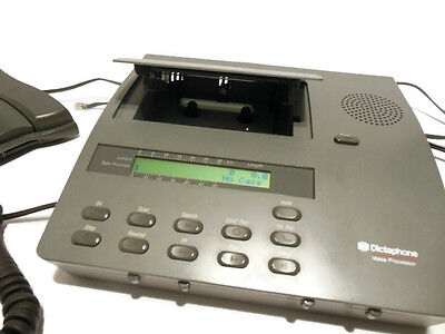 Dictaphone 2750 Cassette Transcriber with Foot Pedal and Headset