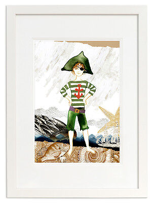 NEW Pirate Marcello open edition print Boy's by Little Branch