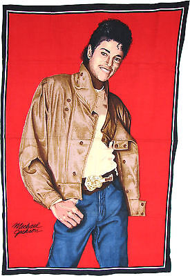 Michael Jackson Drapeau Tapis GIANT BEAT IT FLAG Tapestry RUG POSTER 91cm x 60cm