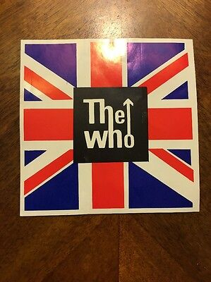 Authentic Vintage The Who sticker