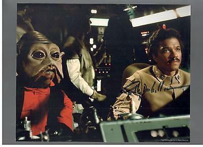 Billy Dee Williams Authentic Signed Autograph Ottawa Comiccon 2016  Star Wars
