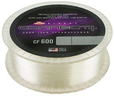 Berkley Direct Connect+ CF600 Carp 100% FLUOROCARBON 10kg 1200mtrs ONLY TWO LEFT