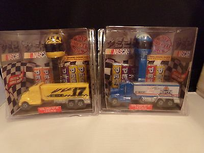 Nascar Pez Collectables Special Gift Pack Duo Rusty Wallace & Matt Kenseth