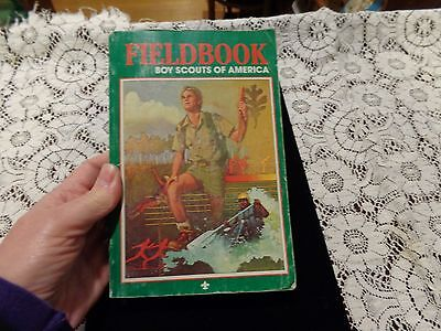 BSA Fieldbook Boy Scouts of America Paperback 1984 3rd Edition 1st Printing