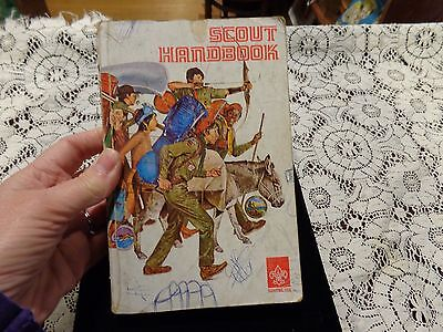 Vintage 1976 Scout Handbook Boy Scouts of America BSA USA 1976 8th Edition