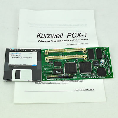 Kurzweil PCX-1 Polyphonic Expansion Kit for PC2 Series