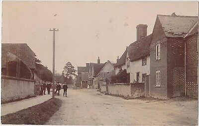 Rp Abingdon Street Scene  , Real Photo By Andrew Warland , Posted 1905