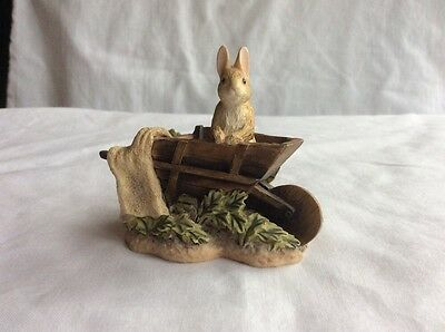 Border Fine Art  Peter Rabbit In Wheelbarrow