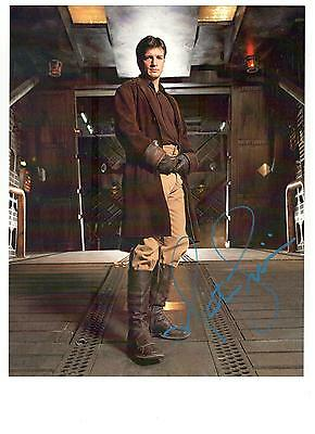 Nathan Fillion Authentic Signed Autograph  Ottawa Comiccon 2013 Firefly Castle
