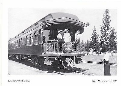 """The Yellowstone Special"" /Early 1900's/  *W Yellowstone, MT 'Postcard' (#273)"