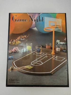 Game Night Basket Ball Shots Drinking game B Balls New