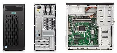 HP ProLiant ML10 Gen9 Server 838123-425 Xeon E3-1225v5, 8GB RAM, DVDRW, 2TB
