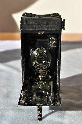 Kodak No1 Folding Pocket Camera, With Canvas Case, patent 1921, great condition!