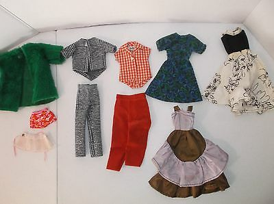 Small Mixed Lot Of Vintage Barbie Clothing