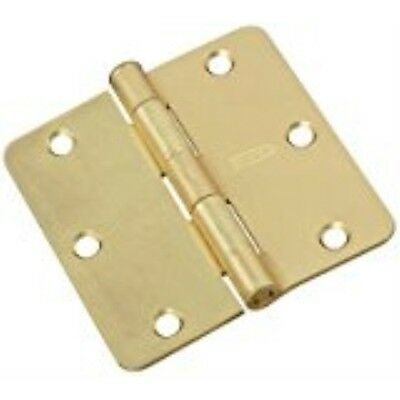 NATIONAL MFG/SPECTRUM BRANDS HHI N830-229 Door Hinge, 3-Inch, Satin Brass