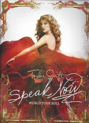 Beautiful Collector Booklet Taylor Swift Speak Now World Tour 2011