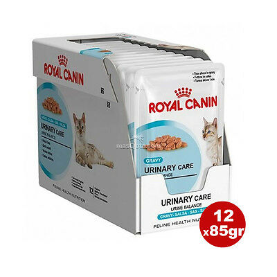 ROYAL CANIN CAT 'URINARY CARE', PARA GATOS CON PROBLEMAS URINARIOS - 12x85 gr
