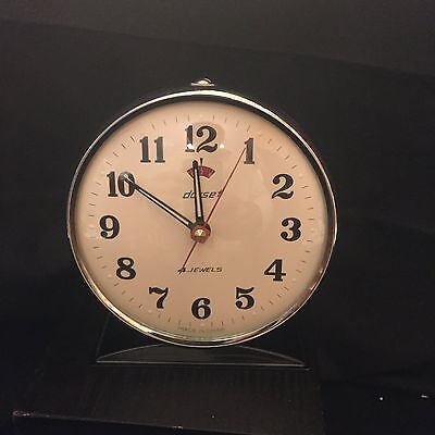 Vintage Dorset 4 Jewels Alarm Clock