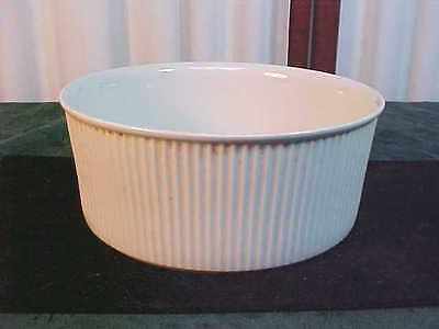 Villeroy & Boch Luxembourg White Ribbed Souffle Bowl-#3