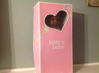 American Girl African American Bitty Baby New In Box