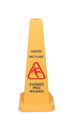 Update WFC-27 Cone Style Wet Floor Signs 27in x 11in