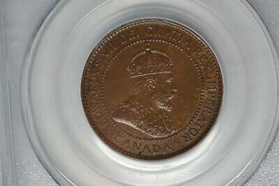 Canada: 1908 Large Cent- PCGS MS-63 BN.  Lovely.