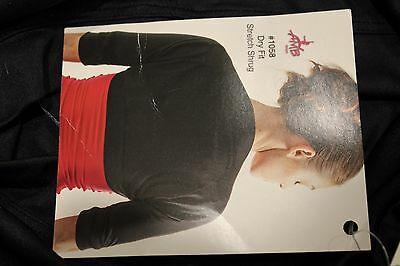 Amb Dry Fit Stretch Shrug - Black - One Size - Style: #1058