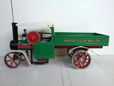 Genuine~Vintage~Green~&~Red~MAMOD~SW1~Steam~Wagon~Truck