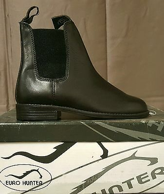 Eurohunter Kids Jodhpur Boots Black SZ 1