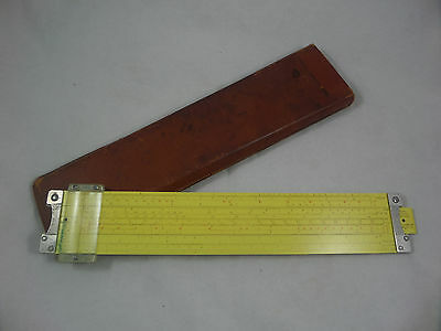 PICKETT ALL METAL SLIDE RULE - Model #N4-ES