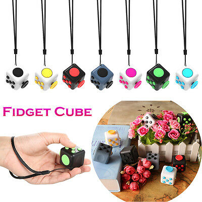 Fidget Cube Toy Anxiety Attention Stress Relief For Adults Children ADHD AUTISM
