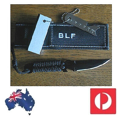 BLF Knife & Magnesium Fire Starter Outdoor Camping Spearfishing Hiking survival