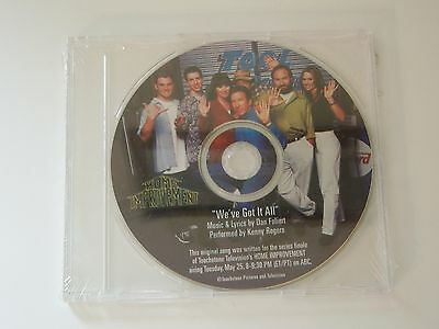 ABC Disney Home Improvement Show 90's Tool Time Kenny Rogers EXCLUSIVE CD RARE