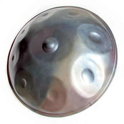 HANDPAN DRUM C# - MYSTIC + Free case + Free shipping