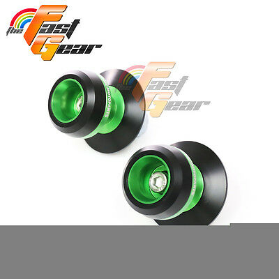 Green Twall Protector Swingarm Spools Sliders Fit Yamaha YZF-R6 S 2003-2008