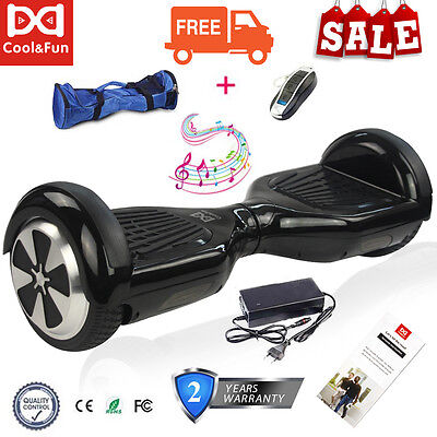"""6.5"""" 2 Roues overboard Gyropode Skateboard électrique Self Balance Scooter Board"""