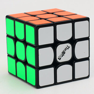 QY The Valk 3x3x3 Speed Magic Cube High-end Twist Puzzle Intelligence Toys Black