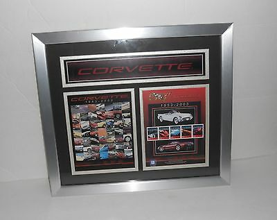 Corvette Collectible Rare Official Tender Postage Stamps Ltd. Edition Licensed