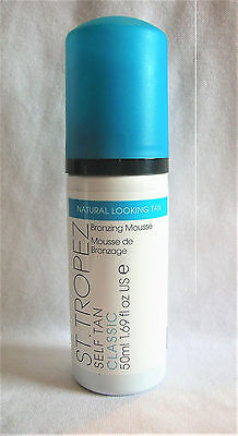 ST TROPEZ Self Tan Classic NATURAL LOOKING Bronzing Mousse Travel 1.69 oz/50 ml
