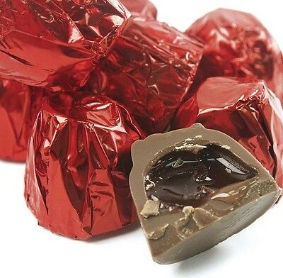 Milk Chocolate Cherry Cordials - Pick a Size!- Free Expedited Shipping