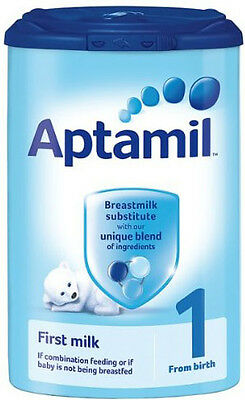 6罐英国爱他美1段0-6月奶粉只邮中国 6 x British Aptamil 1 stage 0-6 months formula milk powder