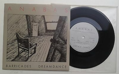 "Anabas Barricades 7"" Rare Goth  death rock Sisters of Mercy"