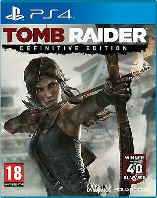 Tomb Raider Definitive Edition Sony Playstation 4 (PS4) Game Brand New IN Stock