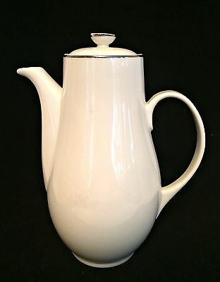Syracuse Coffee Pot Chevy Chase Porcelain 8 inches Tall Teapot Made in USA