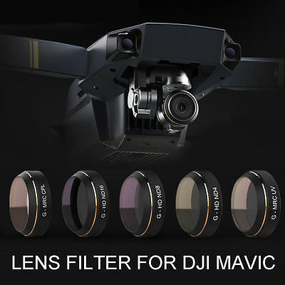 PGY G-UV ND4 ND8 ND16 CPL HD Lens Filter  Quadcopter For DJI Mavic PRO Drone