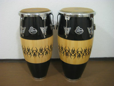 "Congas Scarab Chrome - LP Aspire Accents - 10"" & 11"" double / pair - LPA646-SCC"